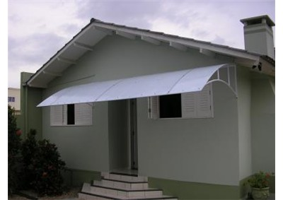 Toldos residenciais policarbonato